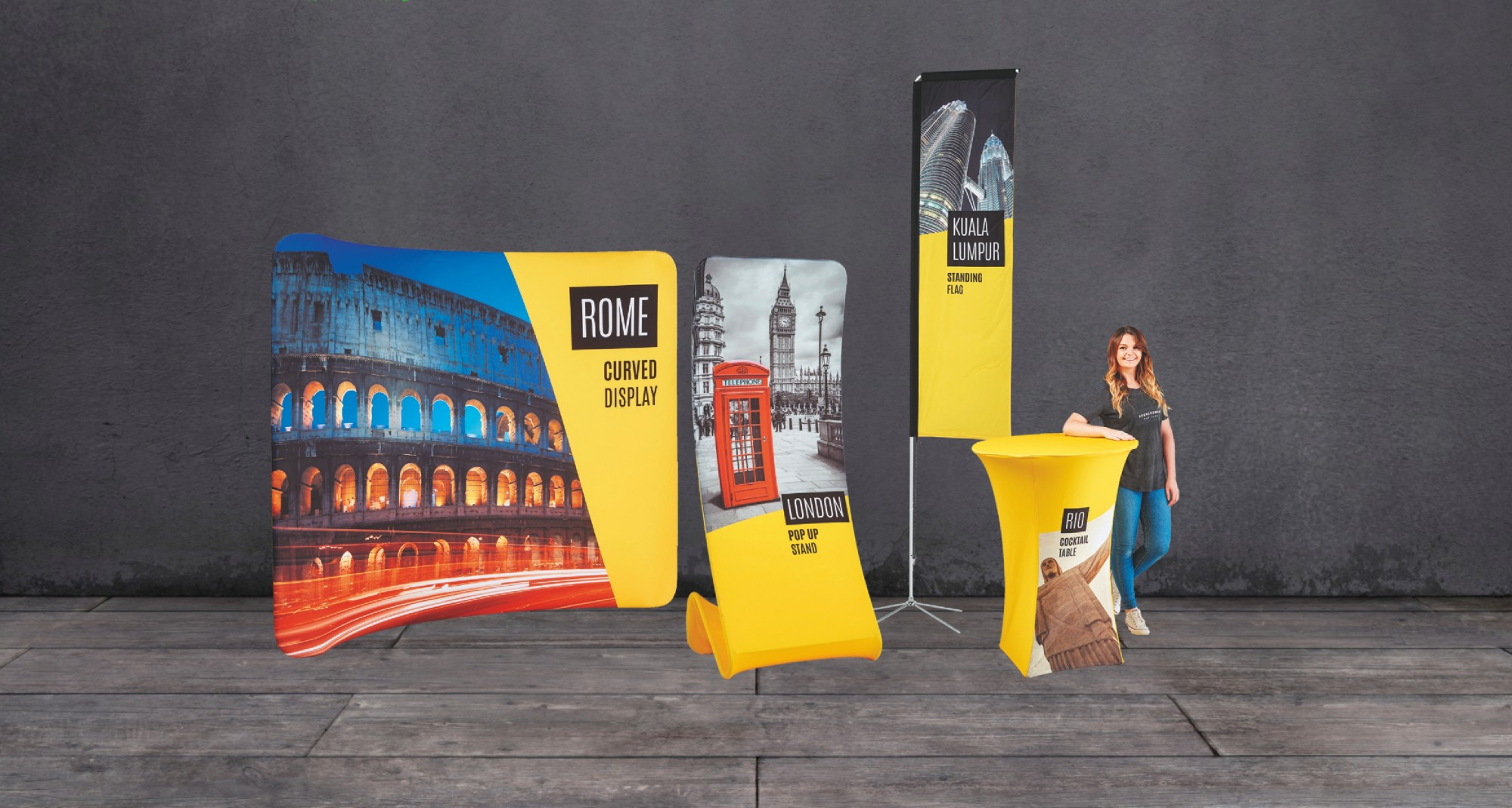 Fabric Exhibition Stand Yet : Offers fabric exhibition displays and banners digiprint group