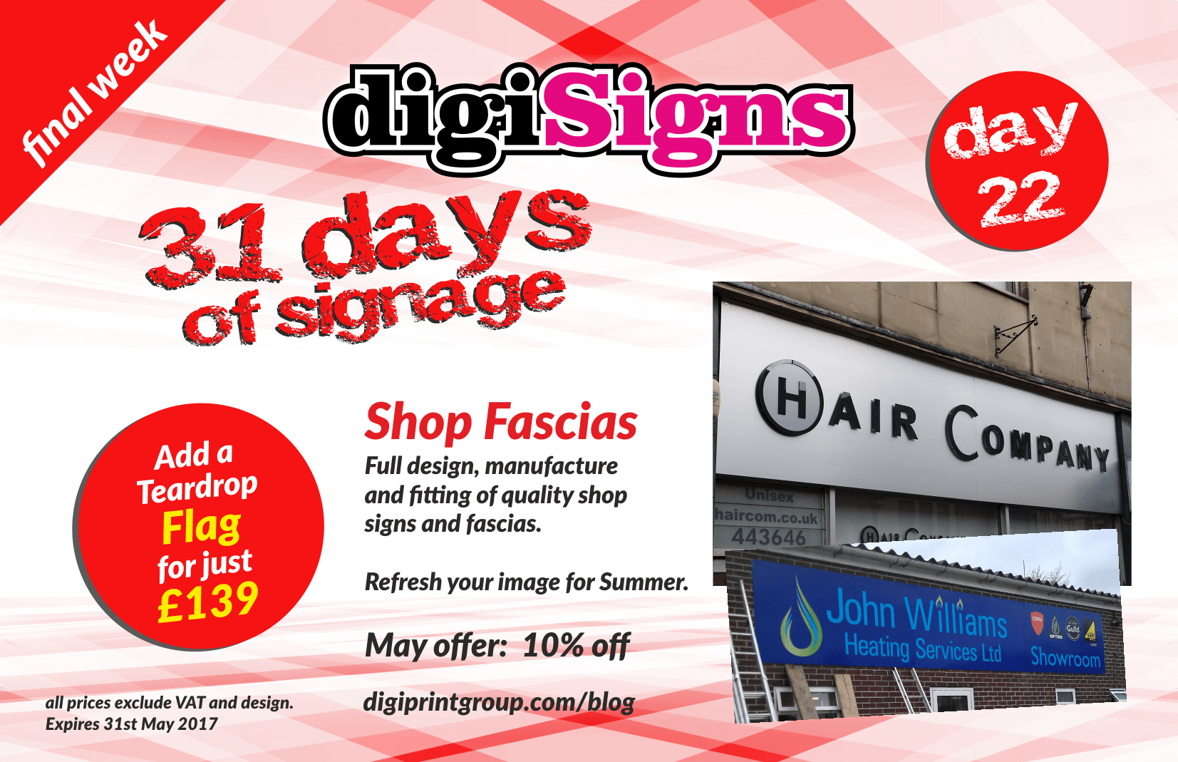 Blog digiprint group bath and chippenham nettl web printing and from simple applied vinyl graphics to your fascia board up to aluminium sign trays with routed lettering and illuminated graphics there is a solution for fandeluxe Gallery