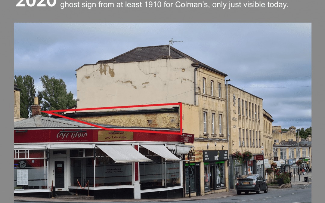 Ghost signs of Chippenham: Digiprint Nettl