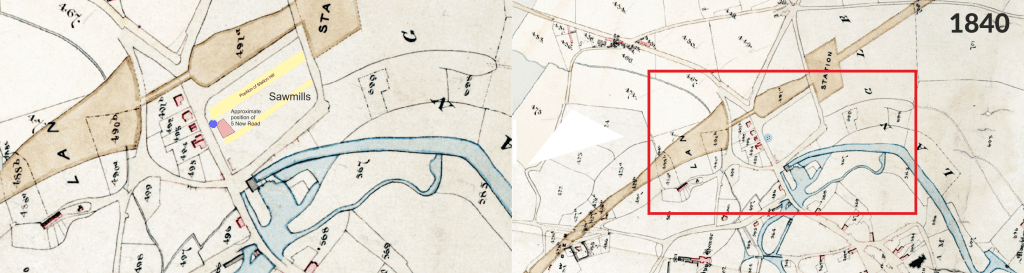 1840 History Map