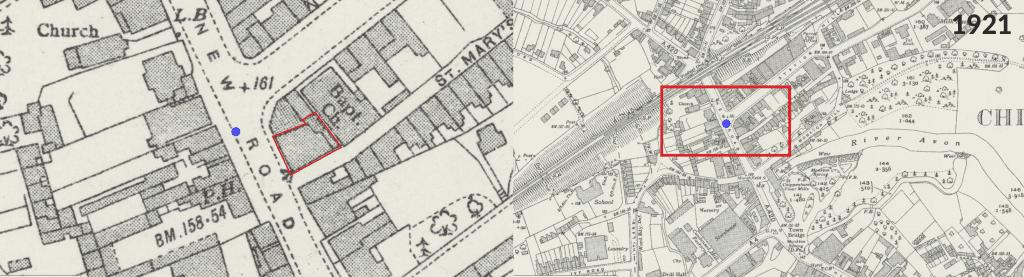 1921 Map